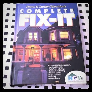 HGTV Complete Fix-It DIY Time life hardcover Book